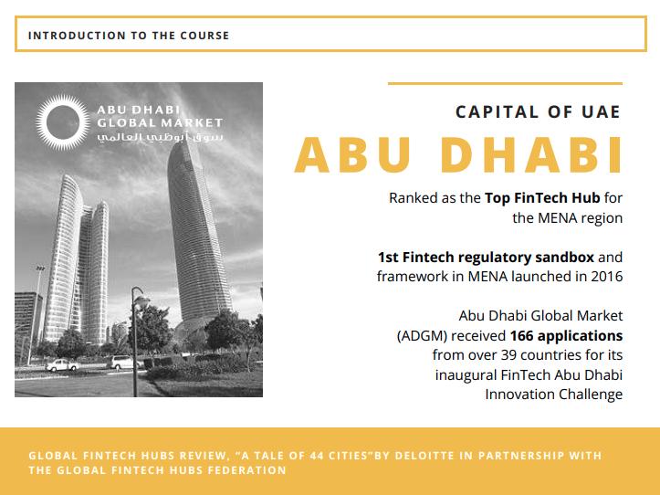 Abu Dhabi fintech UAE 2017