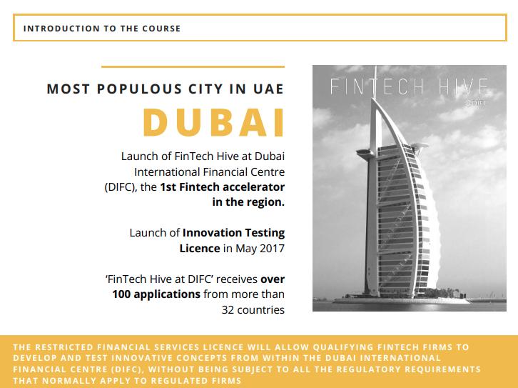 Dubai UAE fintech 2017