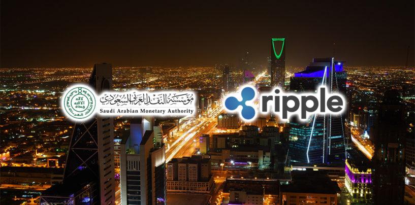 Ripple and Saudi Arabian Monetary Authority (SAMA) Offer Pilot Program for Saudi Banks