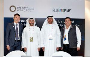 ADGM Fintech Center Plug and Play Partnership