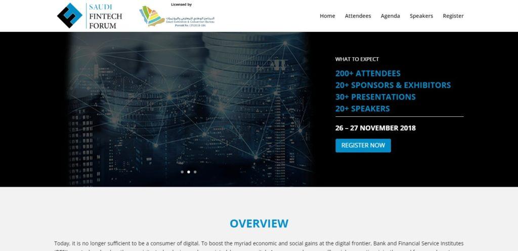 Saudi Fintech Forum 2018