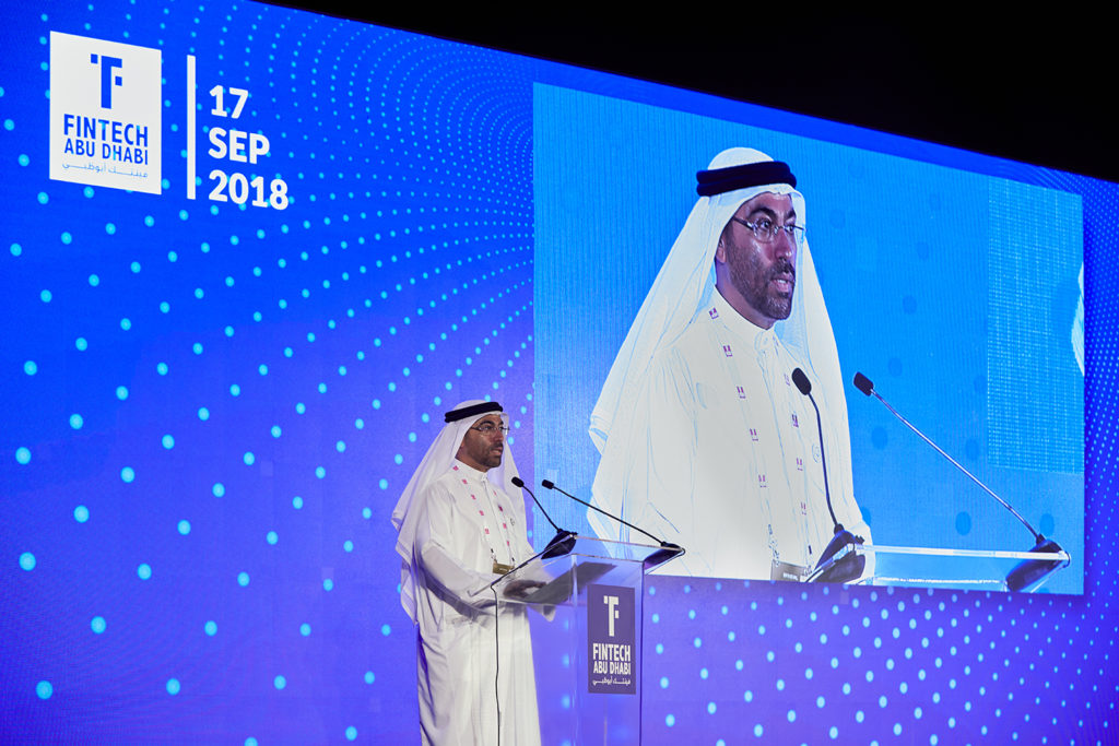 H.E Ahmed Al Sayegh, Minister of State and Chairman of ADGM
