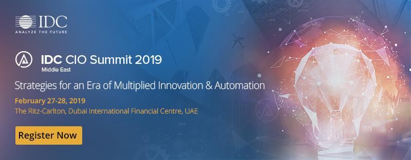IDC CIO Summit 2019