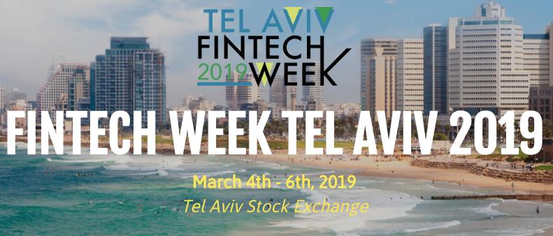 Fintech Week Tel Aviv 2019