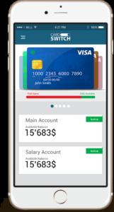 Card Switch mobile app, via Card-Switch.com