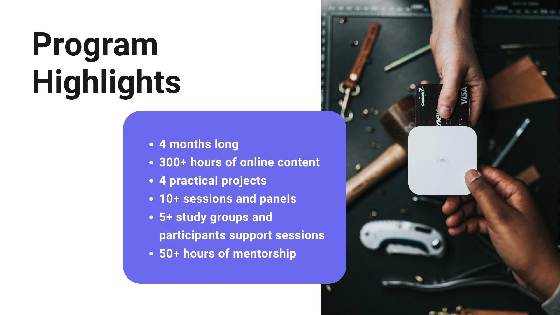 Programme Highlights