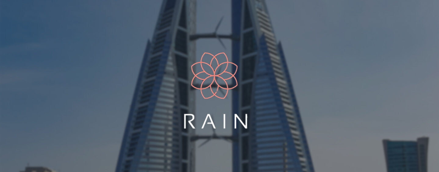 Bahraini Crypto Startup Rain Financial's $6 Million Funding Round Joined by Coinbase