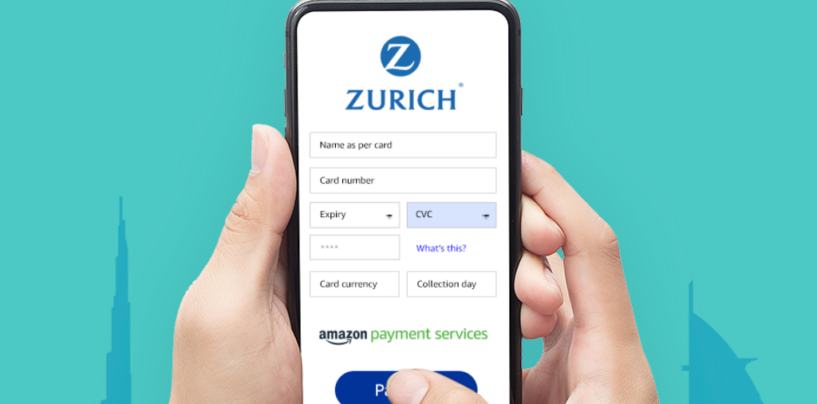 Zurich Taps Amazon Payment Services to Offer Digital Payments Option in the Middle East