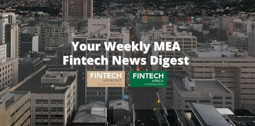 MEA Fintech Weekly News: Dubai Gets Regulatory Nod for Crypto Trading